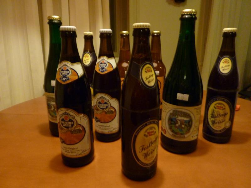 Дегустация пшеничного пива