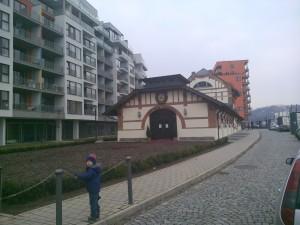 marina holesovice budova