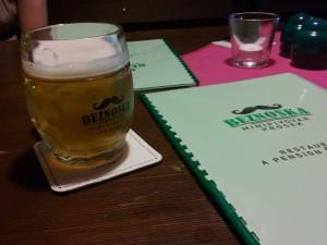beznoska pivo