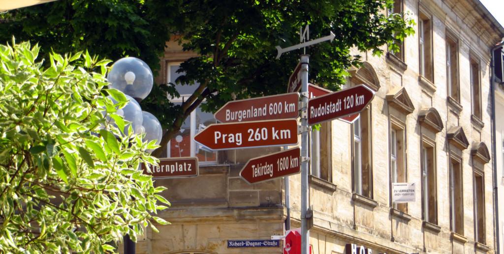 Из центра Байройта до Праги 260 всего километров.