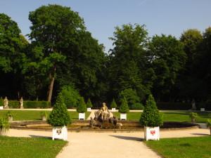 Парк в самом сердце города.