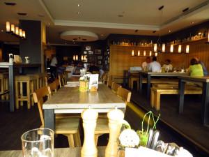 Внутри ресторана при пивоваре Riegele